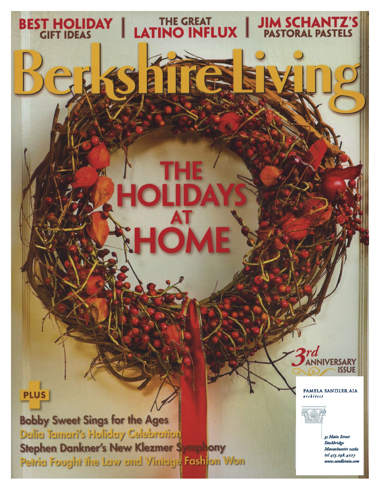 "Berkshire Living, November 2007: ""Hot Property"""