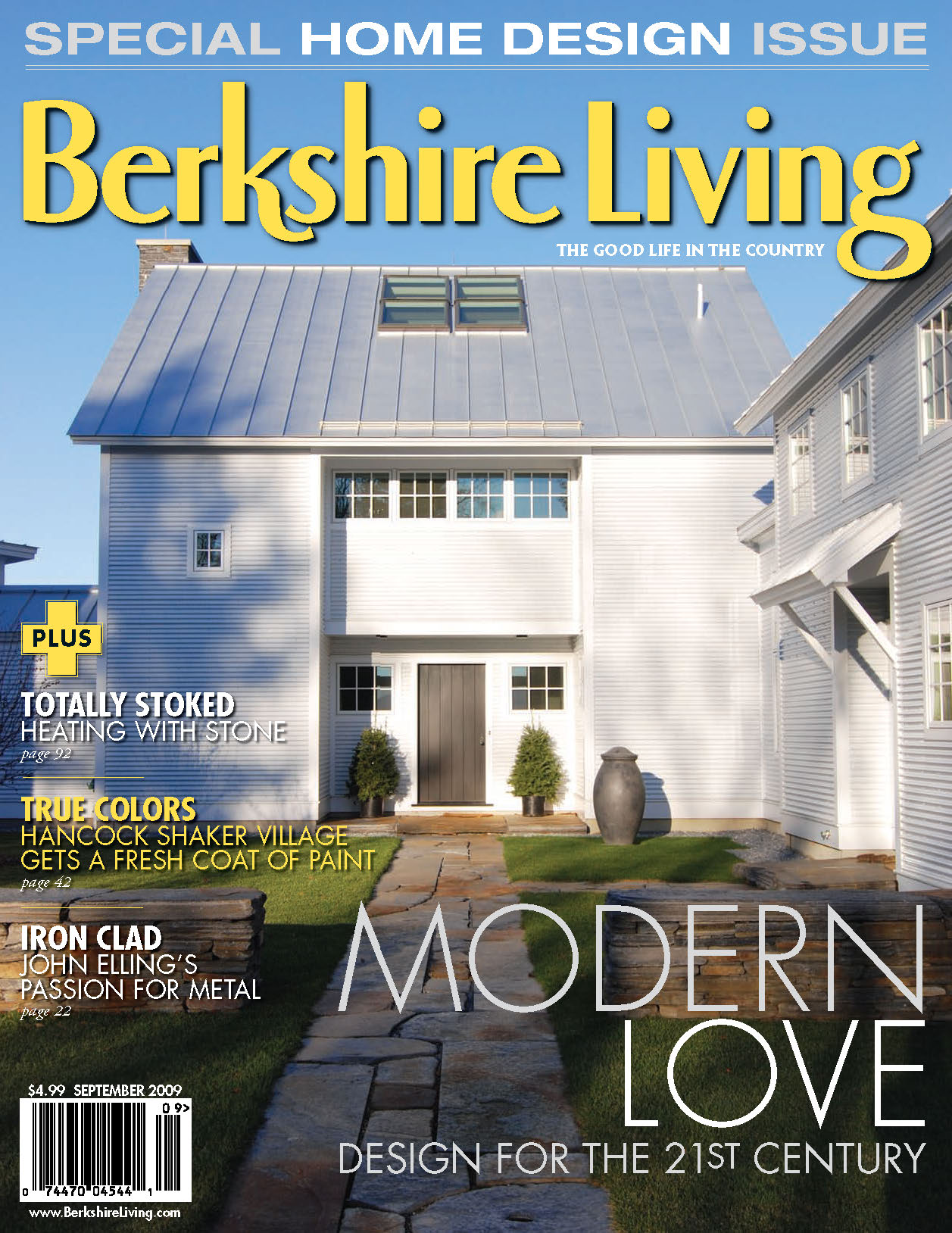 "Berkshire Living, September 2009: ""Rocky Mountain High"""