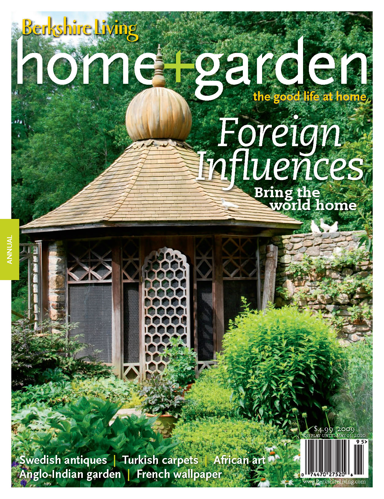 "Berkshire Living Home + Garden, Annual 2009: ""Out of Africa"""